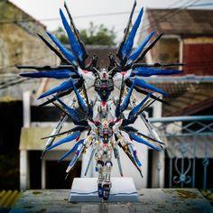 Gundam Rg strike freedom Mg srrike freedom