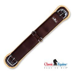 Meece Saddlery - SensorFlex Straight Cinch by Classic Equine, $65.95 (http://www.meecesaddlery.com/sensorflex-straight-cinch-by-classic-equine/)