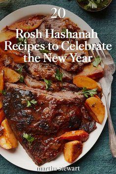 Chicken Recipes Jewish, Jewish Recipes, Jewish Brisket Recipe, Beef Brisket Recipes, Kosher Food, Kosher Recipes, Rosh Hashanah Traditions, Moroccan Desserts, Hanukkah Food