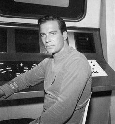 Captain James T. Kirk of the Starship Enterprise