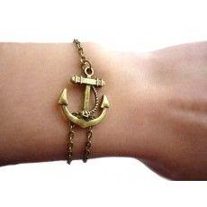 #bracelet #ancre bronze
