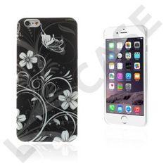 Blommor (Fjäril & Vit Blommor) iPhone 6 Plus Skal