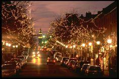 Christmas in Old Town Alexandria, Virginia. We use to go to Alexandria all of the time when we lived in D.C.