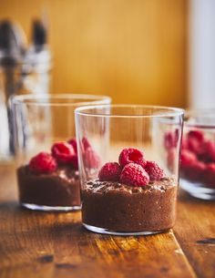 Pouding Chia, Desserts With Biscuits, Chocolate Desserts, Healthy Desserts, Dairy Free, Nutrition, Bakery, Clean Eating, Food And Drink