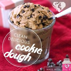 Enjoy cookie dough while you lose weight with this recipe!
