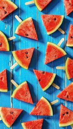 Imagen de watermelon, summer, and fruit