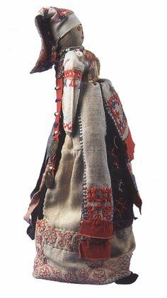 Vintage Karelian doll
