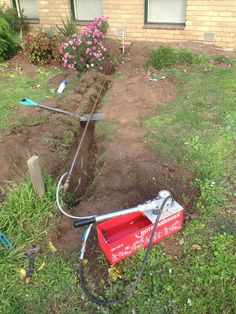 Water Line replacement by Flash Jetting & Plumbing. - Flash Jetting & Plumbing, Plumbing, Bacchus Marsh, VIC, 3340 - TrueLocal