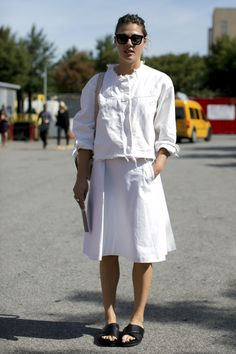 753c710c3 25 Chic All-White Street Style Outfits (Happy Memorial Day!)