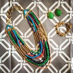 Want it all ... Zahara , serenity earrings, renegade bracelet ... #stelladot #jewelry