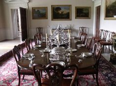 Dining room,Kedleston Hall.