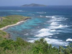 Point Udall, St. Croix, USVI - the eastern most point in U.S. territories.