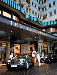 The Peninsula Hong Kong - what a grand arrival