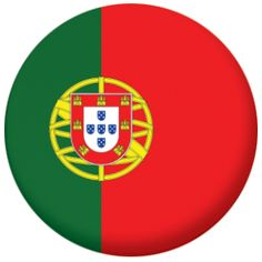 High quality badges detailing the flag of Portugal
