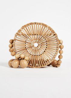 Cult Gaia bamboo circle purse  #handbags