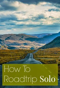 Road tripping on your own isn't scary or lonely - it's fun! Tips on how to stay safe, entertaining, healthy, and how to get the most out of those miles // yesandyes.org #travel #roadtrips