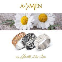 Gli anelli con le tue preghiere. www.amencollection.com