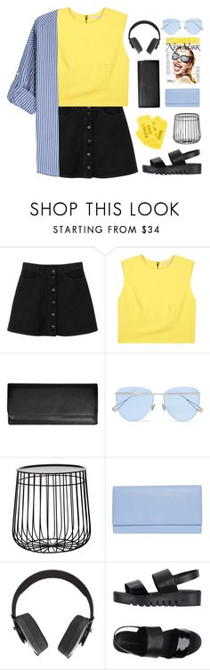"""""""#990"""" by maartinavg ❤ liked on Polyvore featuring Monki, Alice + Olivia, Royce Leather, Sunday Somewhere, Pols Potten, Smythson, Pryma, Jeffrey Campbell and Steffen Schraut"""