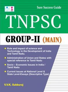 8 Best TNPSC Group II Preliminary Exam Book images in 2015
