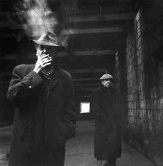 Georges et Riton 1952 |¤ Robert Doisneau | 9 février 2016 | Atelier Robert Doisneau | Site officiel