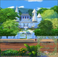 Sims 4 CC's - The Best: House by Lover at Sims 4