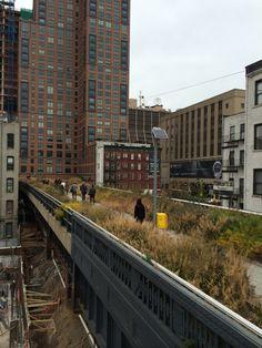 sky line newyork 廃止された線路跡地を公共の公園にしたもの