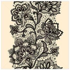 lace tattoo sketch ideas drawings by ranz tatts pinterest tattoo vorlagen tattoo. Black Bedroom Furniture Sets. Home Design Ideas