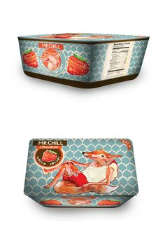 Mr. Chill FrozenYogurt  (best packaging ever!)