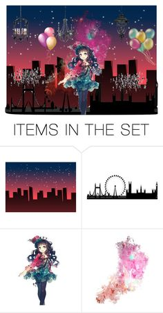 """""""City that never sleeps"""" by jujuispirit ❤ liked on Polyvore featuring art"""