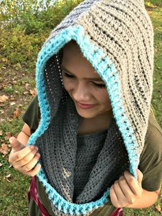 Hideaway Haven Hooded Cowl Free Pattern | Haven Crochet and Craft
