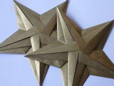 Stern von Tomoko Fuse. Auch in einfarbigem Papier sieht er gut aus