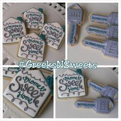 Housewarming Home Sweet Home/ New House by GreeksNSweets on Etsy