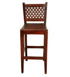 Bar Chair  Legno massello di sheesham BF-056111 x 45 x 40 CM   Arts of India – Italy