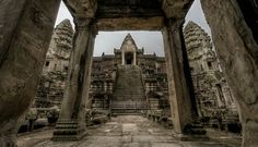 One of the many wonders of architecture in Ankor Wat