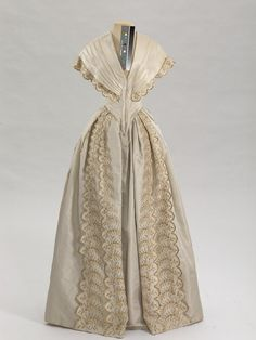 Dinner Dress 1850-1851 State Hermitage Museum