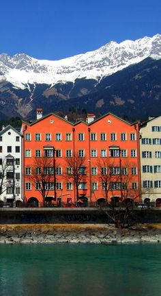 Colorful shot at Innsbruck, Austria Photo by James Cridland