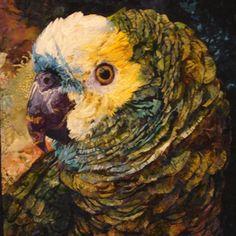 bird, art, quilt