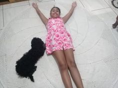 Tapete de crochê redondo - GIGANTE 2 metros de diâmetro -#ByPatyKelyCrochê - YouTube Crochet, Mini, Youtube, Dresses, Fashion, Crochet Symbols, Rug Patterns, Crochet Slippers, Crochet Ornaments
