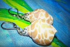 Shell Earrings by bbcreations on Etsy, $6.00