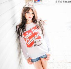 Trailer Park Queen! #TrailerPark #Forever21 #LookBook fashion blog, www.tiotrash.com, spun, white trash bash
