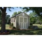 Handy Home Products Meridian 8 ft. x 10 ft. Wood Storage Shed with Floor 19348-4 at The Home Depot - Mobile