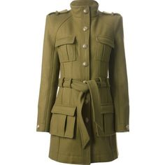 BALMAIN safari coat and other apparel, accessories and trends. Browse and shop 4 related looks.
