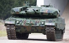 In 2015 the Polish MoD selected Rheinmetall of Germany to upgrade their Leopard tanks. An upgraded Leopard version was developed by Rheinmetall in cooperation with Polish companies. Army Vehicles, Armored Vehicles, Patton Tank, Tank Armor, Armored Fighting Vehicle, World Of Tanks, Military Photos, Military Weapons, German Army