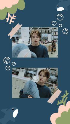 Boys Wallpaper, Iphone Background Wallpaper, Lock Screen Wallpaper, My Bo, Yoshi, Kpop Backgrounds, Sanha, Treasure Boxes, Fandom