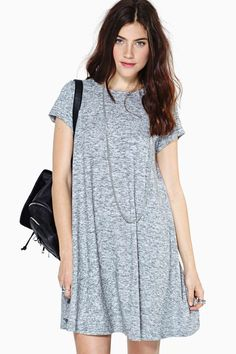 Slight Drizzle Tee Dress   Shop Dresses at Nasty Gal