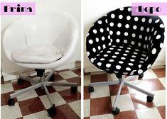 """IKEA Hack: la mia """"nuova"""" sedia SKRUVSTA"""
