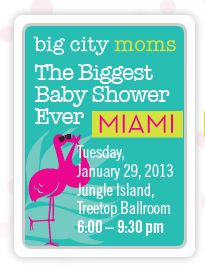 big city moms baby shower in miami