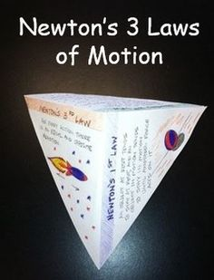 Newton's Laws of Motion - Great Foldable Activity plus equation sheet for Newtons Laws.  Finally, a great lab!