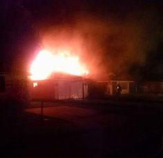 Firefighters battling structure fire off Roseland Road