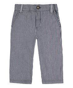 Look what I found on #zulily! Blue Nautical Stripe Pants - Infant, Toddler & Boys by JoJo Maman Bébé #zulilyfinds